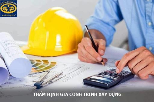 Thẩm định giá dự án công trình xây dựng trên toàn quốc